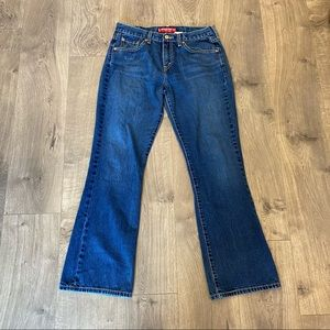 Levi's 515 Boot Cut Low Rise Jeans Size 10